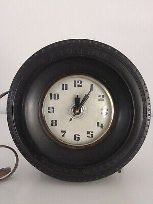 GOODYEAR TIRE CLOCK VINTAGE FROM 1970'S