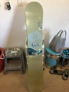 Used Snowboard Deck...154.....N. Bford...45 bucks