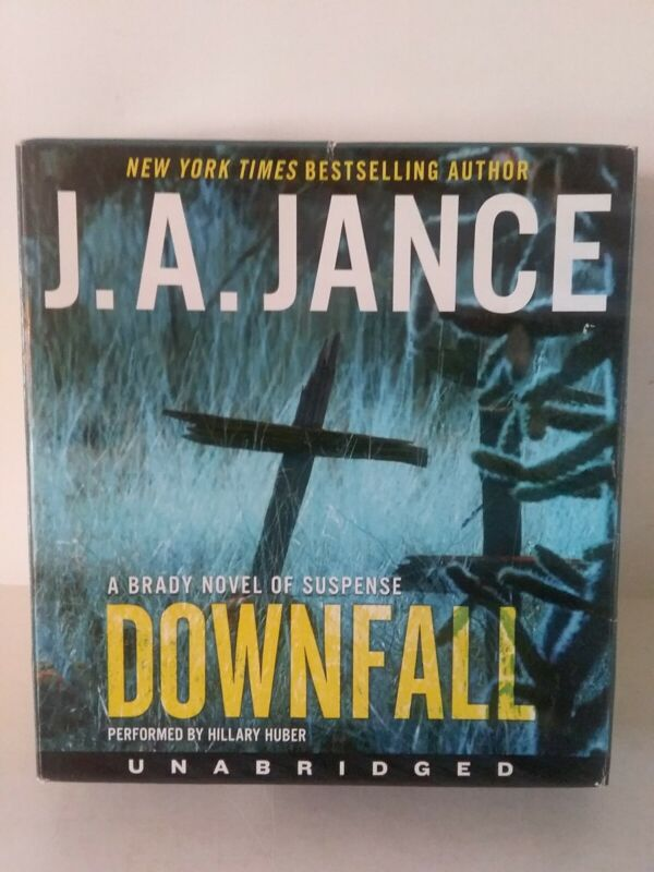 Downfall by J. A. Janice - 9 CD UNABRIDGED AUDIOBOOK - Harper Audio