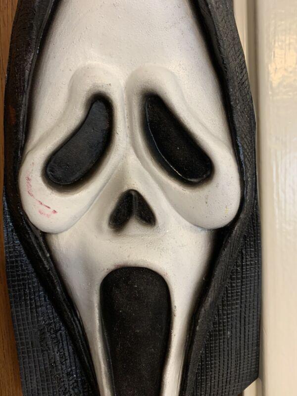 Scream 2 3 4 Movie Vintage Ghostface Mask Tie Latex Fun world 1996 Ghost Face