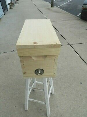 Amish Built 5 Frame Mating Nuc Hive Queen Rearing Honey Bee Supplies Framless
