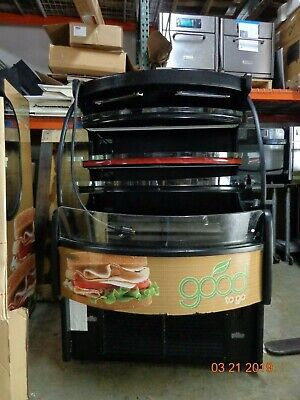 Southern Refrigerated Grab-n-go Display Cooler Merchandiser Mdc-58hn-3ft Used