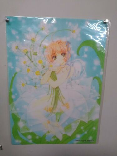 CARD CAPTOR SAKURA Plastic Transparent Poster #1 Licensed Japanese item