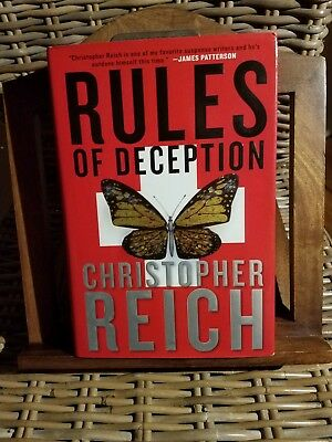 Rules of Deception by Christopher Reich (2008, Hardcover) Signed