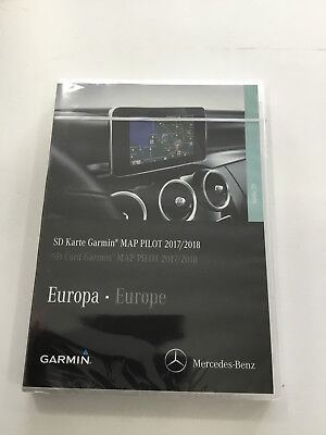 Mercedes-Benz Garmin MAP PILOT für Navigation Audio 20 CD - SD-Karte EUROPA 2018 Garmin Audio