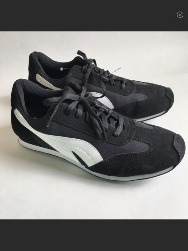 Retro Sneakers Dance Shoes Suede Soles Mens Sz 12 Aris Allen 377 BW