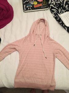 Woman's pink hoodie