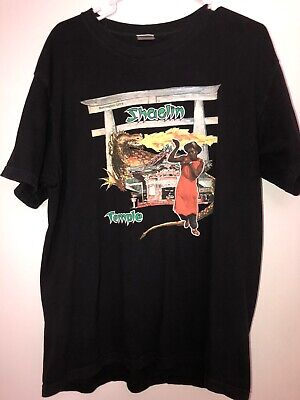 Supreme Black Barrington Levy Jah Life Shaolin Temple Tee - Size XL (pre-owned)
