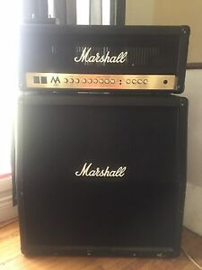 Marshall MA100 head and cab for sale / trade $750