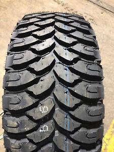 4 NEW 33 12.50 22 LT LRE Comforser MT Mud Terrain Truck Tires 33x12.50R22 R22