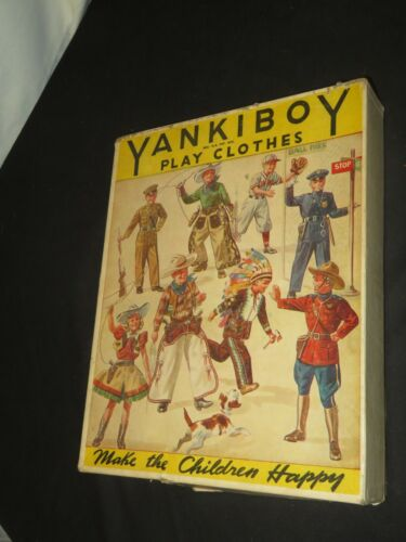 Vintage Costume Box Yankiboy Play Clothes Western Pirate Outfit & More (Z860)