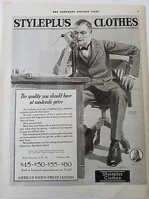 n Kleidung Kerze Telefon Original Mode Bekleidung Anzeige (1920 Herren Bekleidung)