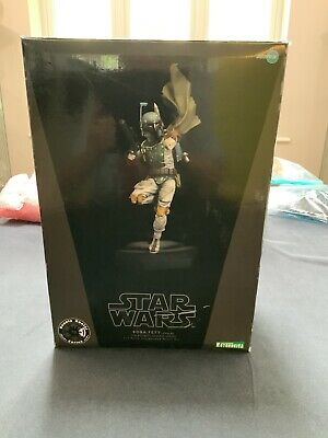 KOTOBUKIYA STAR WARS BOBA FETT V2 1:7 Pre Painted Model - Excellent Condition