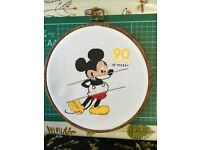 Mickey Mouse and Friends /'/'On the 18th Green/'/' Cross Stitch Pattern Disney/'s