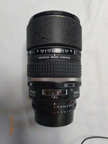 Nikon 105mm F2D AF-DC Portrait Telephoto Zoom Lens >>>Minty!