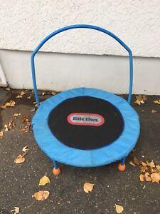 Little tikes trampoline Used