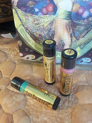 3 Honey House Naturals Lip Butters. The BEST FOR SUMMER and WINTER