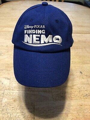Disney Pixar Finding Nemo Hat Blue Adjustable Baseball Cap Promotional Promo