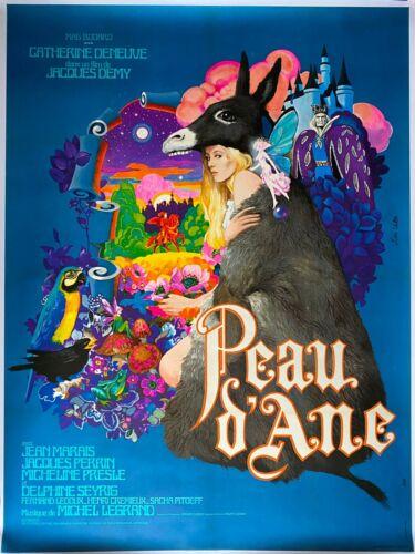 Poster Mounted Skin Donkey Catherine Deneuve Jacques Demy Jeans Swamp