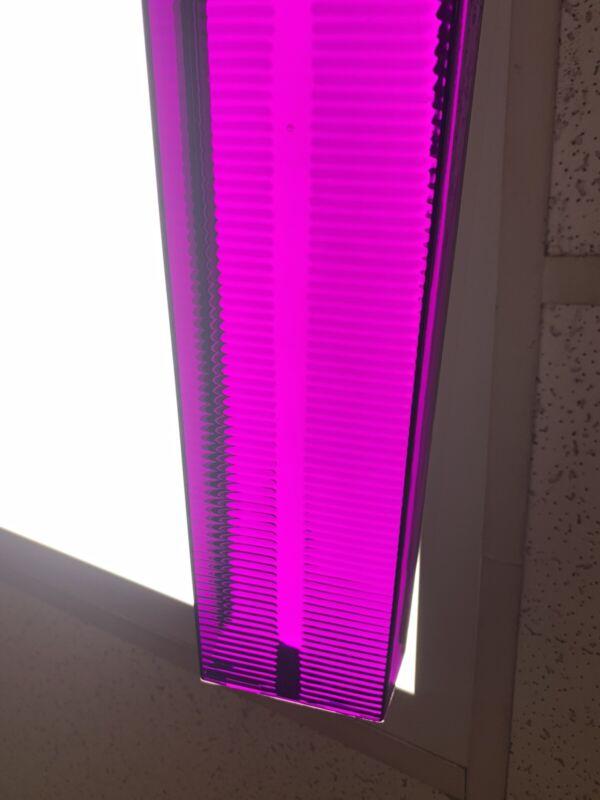 purple lens stick FOR whelen edge 9000 bars