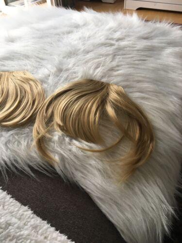 Pony Haarteile zum anstecken Neu Blond