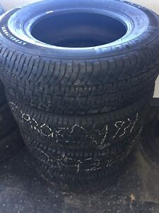 Set of 4, LT265/70/18 Michelin LTX A/T tires, New take off