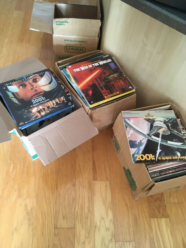 Laserdisc Lot U-Pick 4/$10 Action Sci-fi  Collection