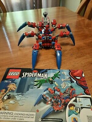 Lego 76114 Spiderman's Spider Crawler MECH AND SPIDERMAN MINIFIGURE ONLY