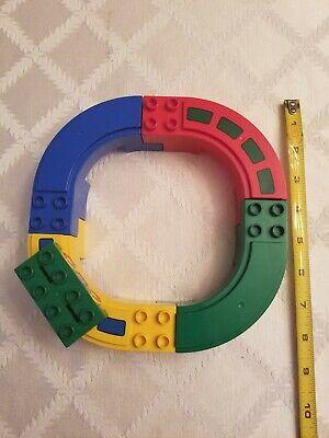 VINTAGE LEGO DUPLO 2284 GO ROUND SET - SMALL MONORAIL TRAIN - 1999