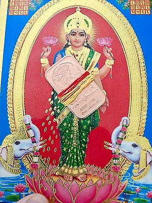 120,108 Mantra Blessed Laxmi Bar Money Drawing Lottery Casino Luck Cash Amulet $