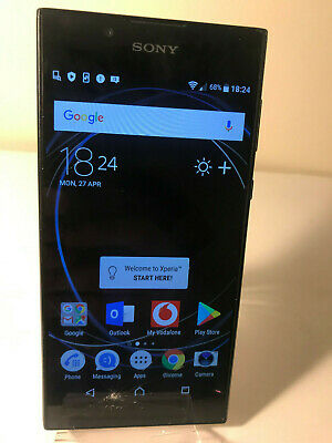 Sony Xperia L1 G3311 - 16GB - Black (Unlocked) Smartphone Mobile - Screen damage