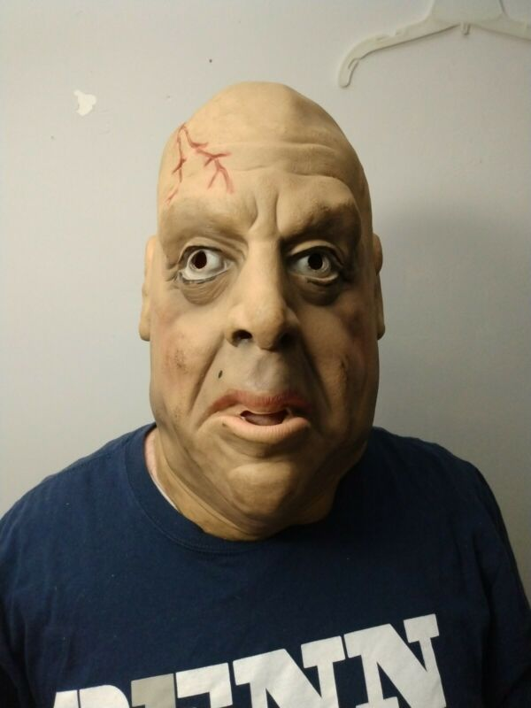 1977 DON POST STUDIO UNCLE FESTER TOR JOHNSON Latex BALD MAN Halloween Mask NICE