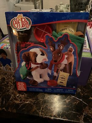 Elf on the Shelf PETS Good Tidings Tote & Scarf Set Claus Couture NEW NIB 6pc