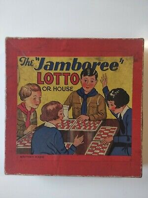 Vintage The Jamboree Lotto/House - Incomplete