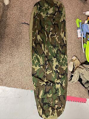 NEW U.S. Military Gore-Tex Bivy Cover Woodland Camo Waterproof Tenure