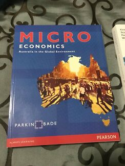 Textbook microeconomics seventh edition textbooks gumtree microeconomics australia in the global environment fandeluxe Image collections