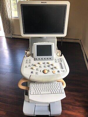 Philips Iu22 Ultrasound 2007 E Cart Bundle 4 Probes
