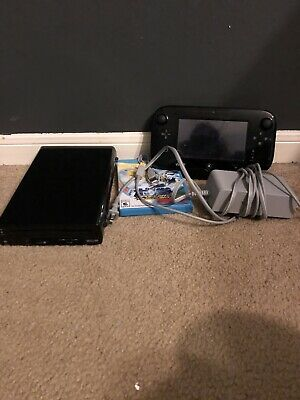 wii u console with gamepad