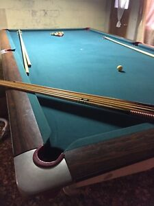 Slate Pool/Snooker Table 6ft by 12ft