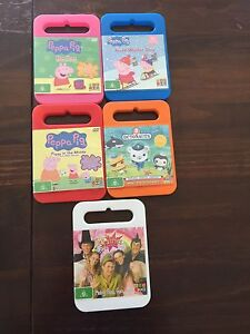 Kids DVDs 5 For Sale Kellyville The Hills District Preview