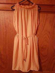 BRAND NEW Yellow Chiffon Dress SIZE 12-14 Greenwith Tea Tree Gully Area Preview