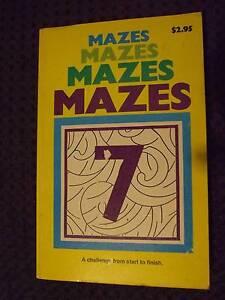 Puzzel Book of Mazes Salisbury Salisbury Area Preview