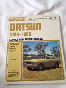 Datsun manual gumtree australia free local classifieds gregorys no110 1972 1977 datsun 160b 180b service repair manual fandeluxe Images