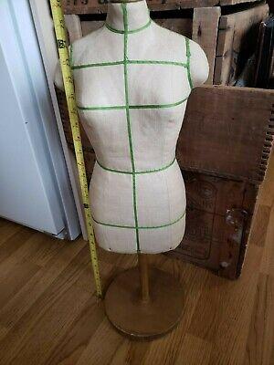 Vtg Child Dress Form Childrens Mannequin Display Store