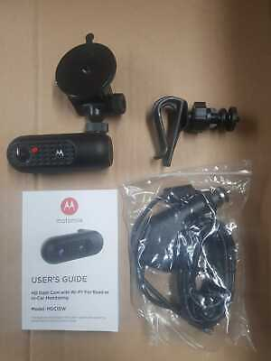 Motorola HD Dash Cam with Wi-Fi for road and in-car monitoring