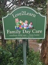LOVE2LEARN FAMILY DAY CARE Greenhill Adelaide Hills Preview
