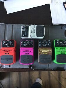 Behringer Effects Pedals