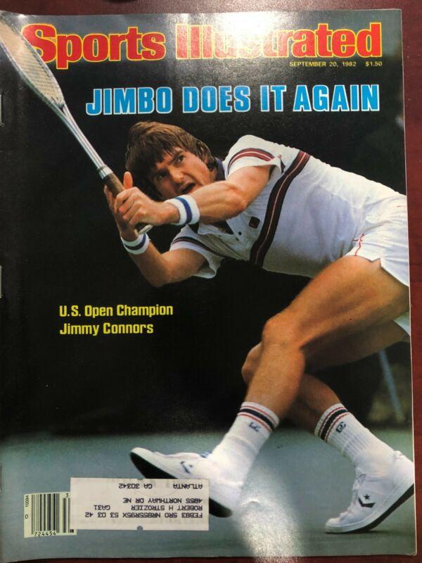 Sports Illustrated Magazine Jimbo Does It Again September 20, 1982