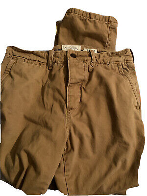 Abercrombie & Fitch Mens Brown Pants W32 L32