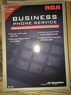 Rca Ip110s Business Class Voip Telephone 2-line